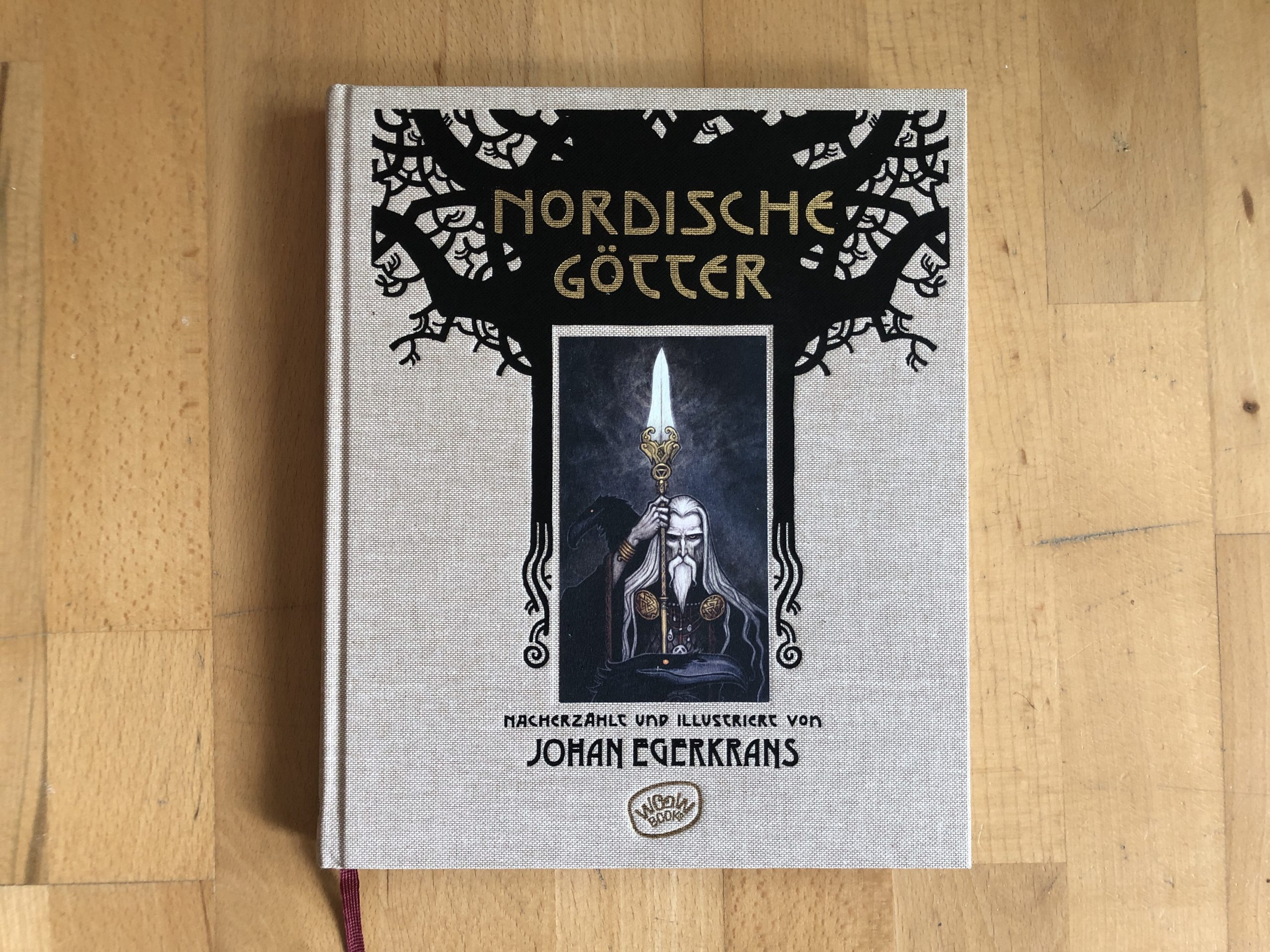 Johan Egerkrans: Nordische Götter