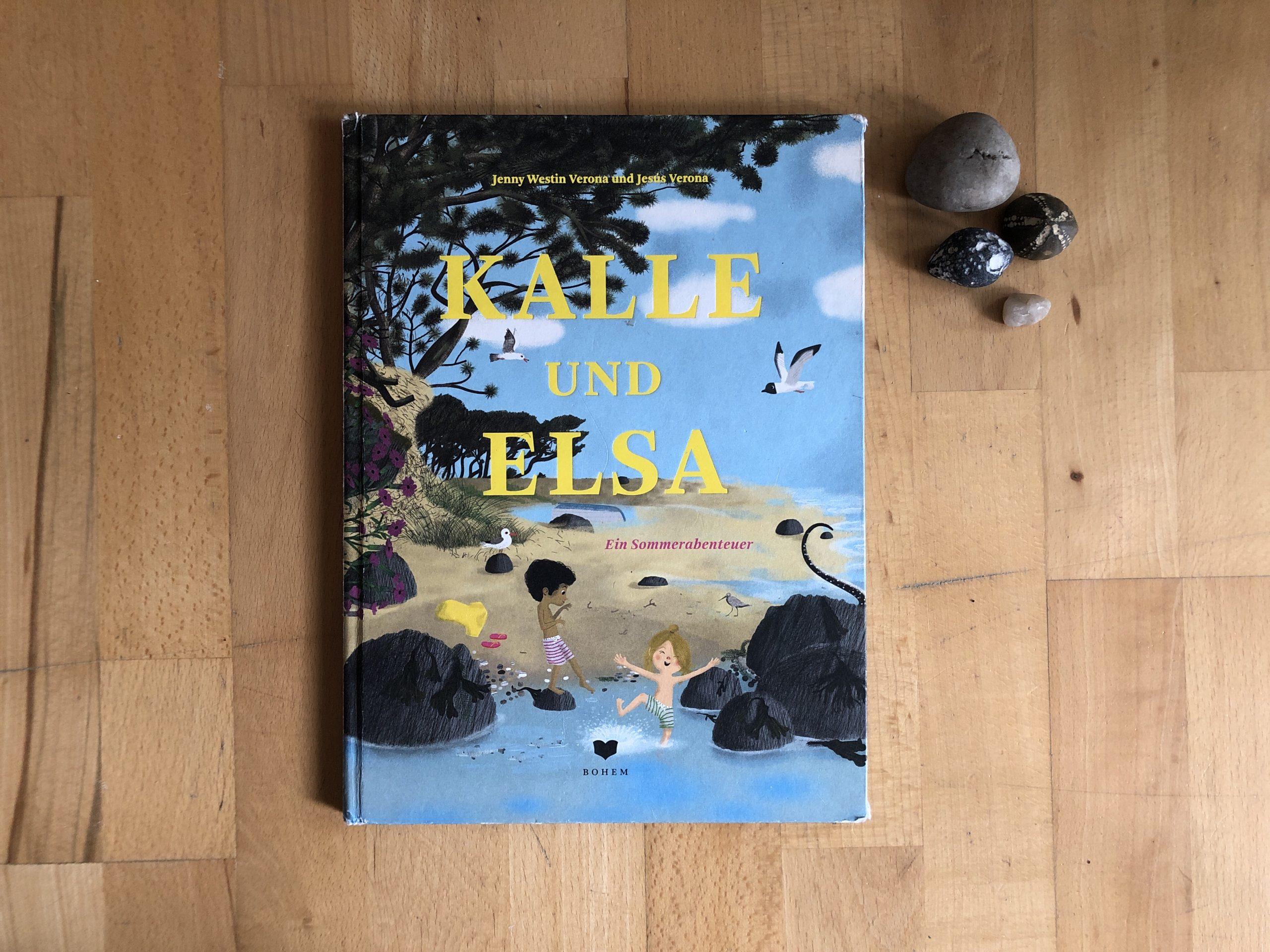 Jenny Westin Verona: Kalle und Elsa — ein Sommerabenteuer