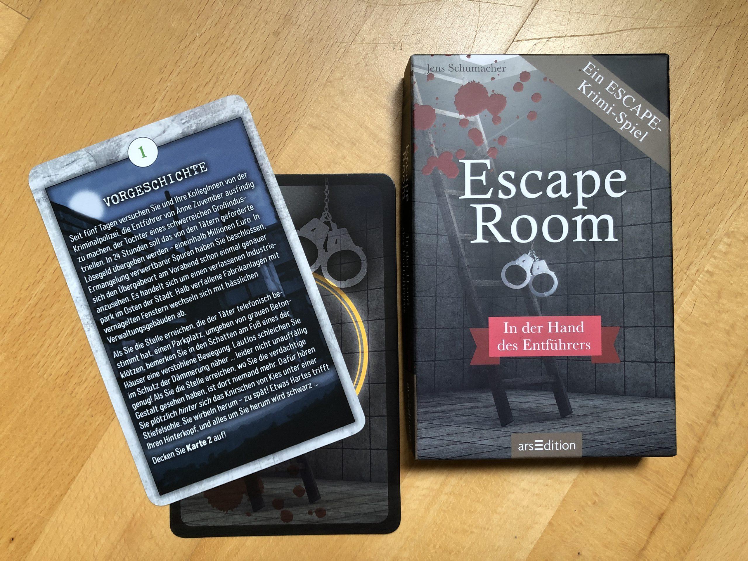 ESCAPE-Krimi-Spiel: In der Hand des Entführers