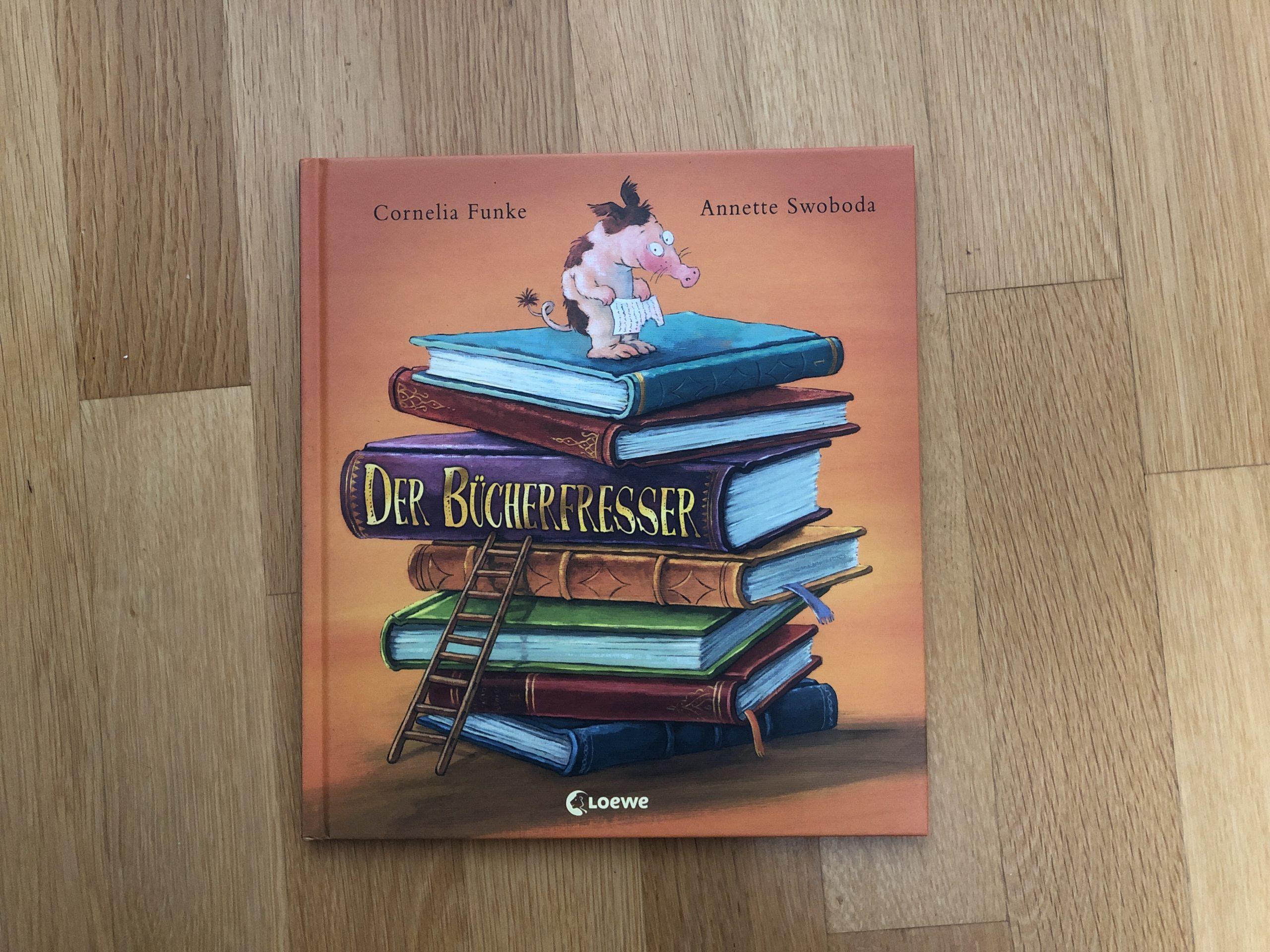 Cornelia Funke: Der Bücherfresser