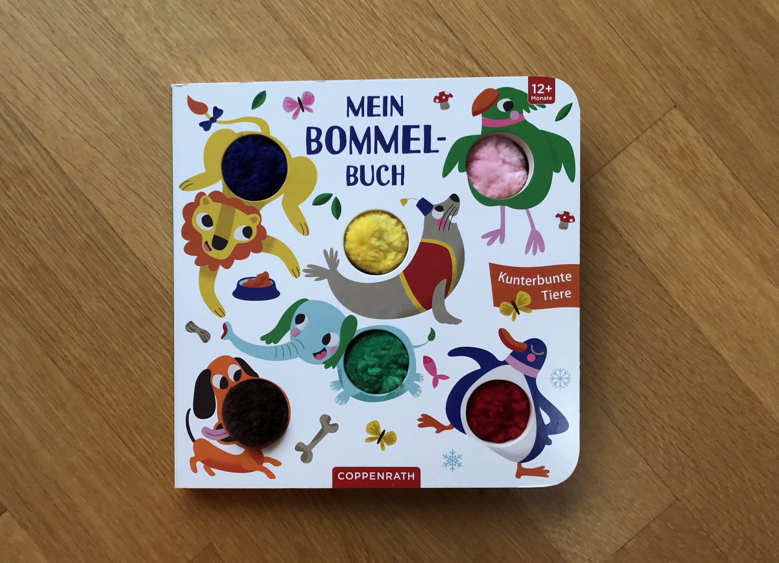 Mein Bommel-Buch: Kunterbunte Tiere