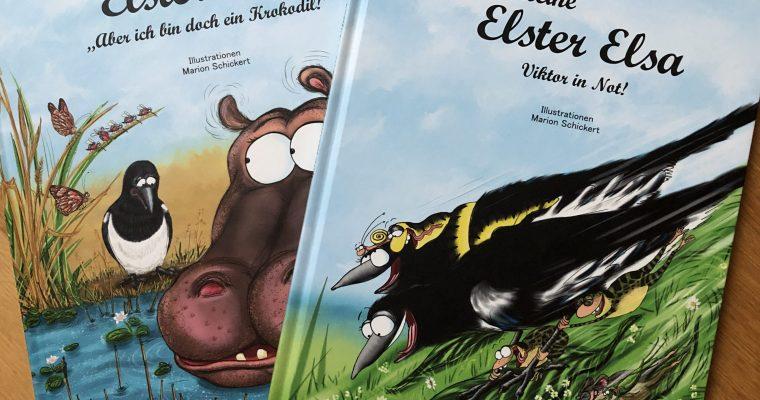"""Die kleine Elster Elsa: Viktor in Not!  Die kleine Elster Elsa: """"Aber ich bin doch ein Krokodil"""""""